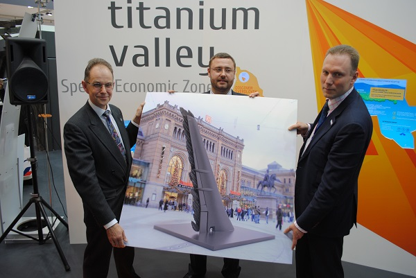 Managing Company of Titanium Valley SEZ Offered Hannover to Erect a Monument to the Chemical Element of Titanium
